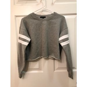 Forever21 Cropped Crewneck